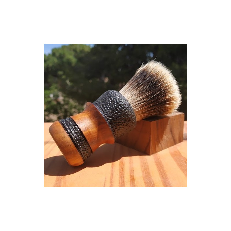 Rustic Barber two woods